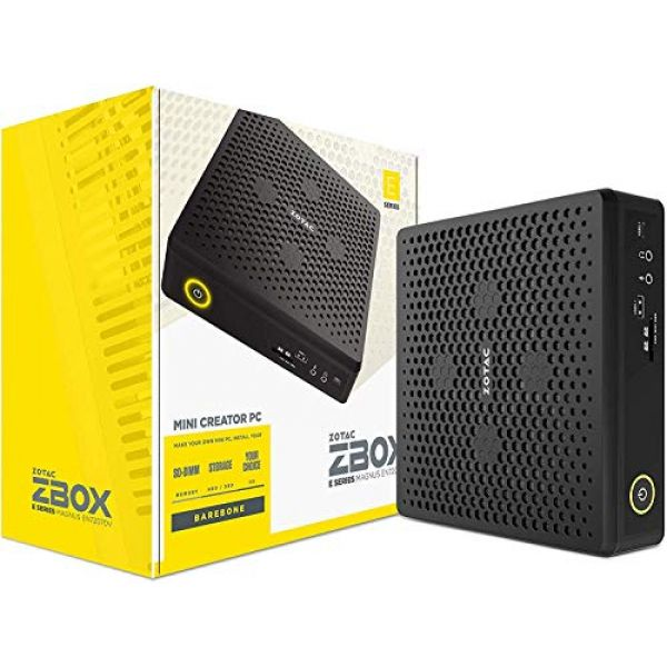 Zotac Zbox EN72070V-BE – Minitatur-Gaming-PC mit NVIDIA Geforce RTX 2070